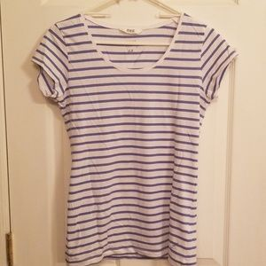 3/$10 Blue and white striped shirt